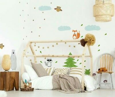 Children Bed House Montessori With Chimney Kids Bed WILD ONE ECO BED FRAME
