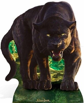 SC-865 Bagheera Black Panther Jungle Book H 124cm