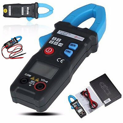 600V Digital Pocket Clamp Meter Multimeter Amps AC DC Current Volt Ohm Tester UK