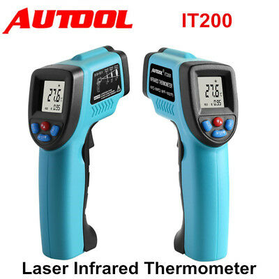 IT200 Non-Contact LCD Digital IR Infrared Laser Temperature Thermometer Gun