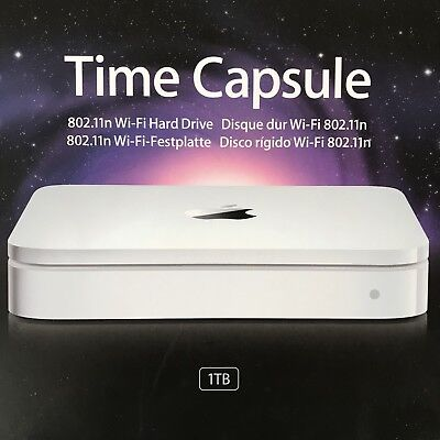 Router Wireless Apple Time Capsule 1TB NAS 802.11n