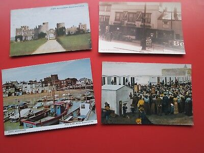 Broadstairs (Kent): 4 Assorted Postcards  (Incl .2 Repro. Cards)