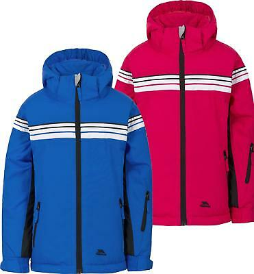 a67d4eb7bb Trespass Priorwood Kids Ski Jacket Waterproof Breathable Insulated TP75