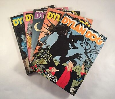 Dylan Dog - lotto 11 numeri ristampe originali.