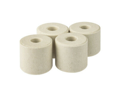 Cooksongold Ceramic Kiln Shelf Posts, Max Temp. 1200 °C, Pack of 4