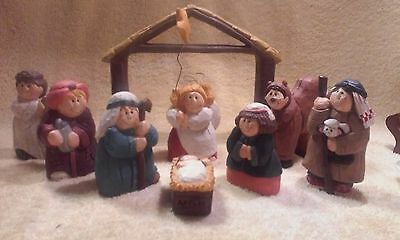 Midwest of Cannon Falls, Eddie Walker Nativity, Incomplete, NO BOX.