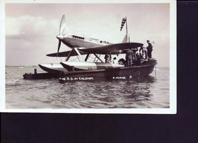 carte photo ancienne Hydravion SG  Galshot