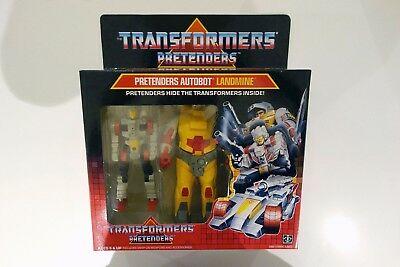 1987 Hasbro Transformers G1 Pretender - Landmine! Factory Sealed Mint Afa Ready