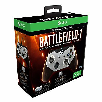 PDP Battlefield 1 Official Wired Controller for Xbox One and Windows - New