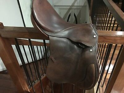 B L Smith Leather Brown Saddle