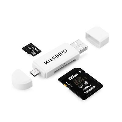 Caxico OTG 5 Card Micro USB to Card Reader and Hub Cable for Mobile Android SD