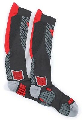 Dainese D Core High Socks All-Season Jacket High Breathable Black Red