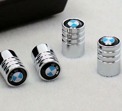 BMW Chrome Tyre Valve Dust Cap + Gift Box