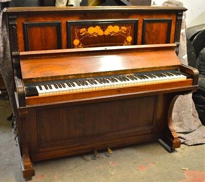 M Kastner piano made in England with rosewood cabinet