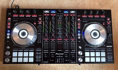 Pioneer DDJ SX 4-channel controller for Serato DJ with Dual Deck Control (black)