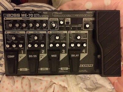 Boss ME-70 Multi Effect Guitar Pedal RRP @ £260, GRAB A BARGAIN WHILE YOU CAN!!!