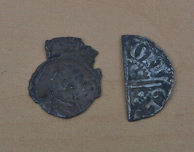 Hammered Silver Coin Fragments