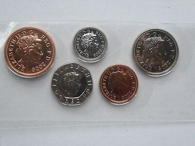 2006 Uncirculated coin set,