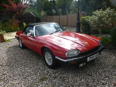 Jaguar Xjs Convertible 1992, Low Mileage, Stunning Condition, 2 Owners.