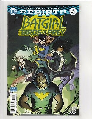 Batgirl and the Birds of Prey (2016) #11 VF/NM 9.0 Cover B DC Comics Rebirth