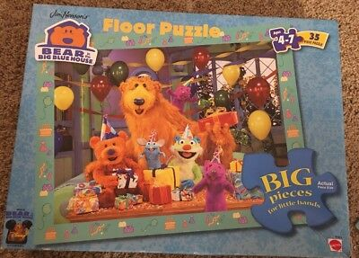 Bear In The Big Blue House Puzzle, 35 Pieces