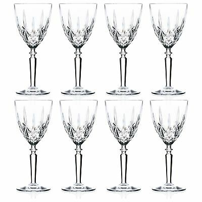 RCR Crystal Orchestra Wine Glasses Red White Drinking Glass 245ml x8
