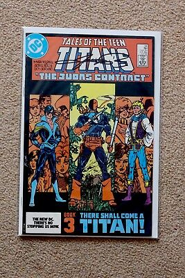 Tales Of The Teen Titans #44 First Appearance Of Nightwing SIGNED By Perez