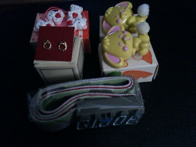 Vintage lot of Avon Kids accessories in the original boxes