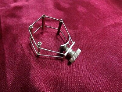 Silver Plated Francois Louis Ultimate Ligature for XL Tenor Sax Mouthpieces