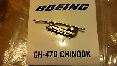Boeing CH-47D Chinook Helicopter Lapel Pin New in Package
