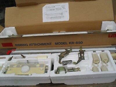 vintage brother knitting machine ribbing attachment FR-850