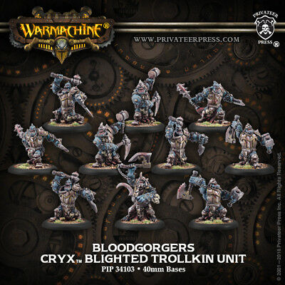 Warmachine - Cryx Blood Gorgers (10) (repack) - PIP34103
