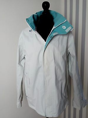 Tribord white wind waterproof outdoors breathable hooded surf sports jacket 14 L