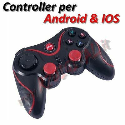 CONTROLLER WIRELESS BLUETOOTH per ANDROID IOS PC TABLET MAC GAMEPAD JOYSTICK HD