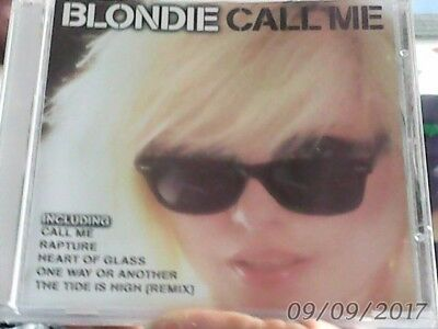 BLONDIE cd compilation CALL ME. includes ANGELS ON THE BALCONY,FAN MAIL,RAPTURE.