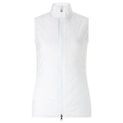 Callaway Thermal Padded Gilet with Shaped Fit in White