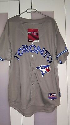 Troy Tulowitzki toronto blue jays jersey 50 L Grey