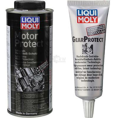 GENUINE Liqui Moly Set motorprotect and gearprotect