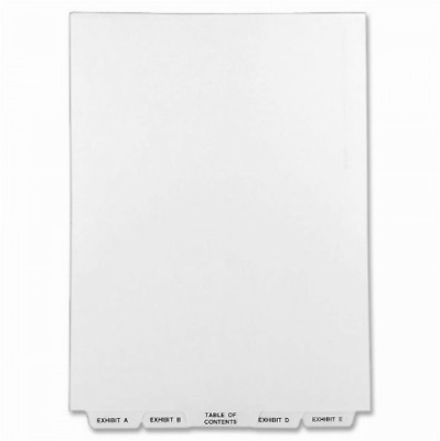New Avery Avery-Style Lgl Bottom Tab Dividers 27-Tab Exhibit A-Z Letter Size