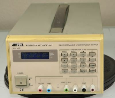 AMREL AMERICAN RELIANCE INC LPS-305 Programmable Linear Power Supply