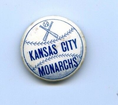 1940s Kansas City Monarch Baseball Pin Celluloid Negro League