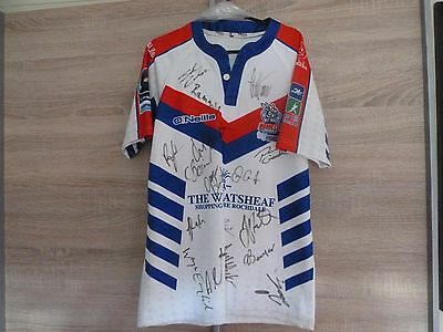 Rochdale Hornets Rugby  Shirt  - Signed!