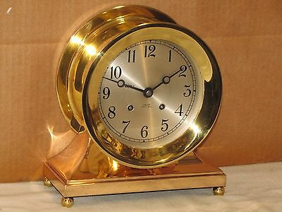 Chelsea Antique Ships Bell Clock~6 In.dial~Commodore~1954~Restored