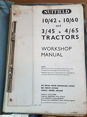Nuffield Workshop Manual