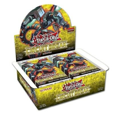Yugioh Circuit Break Booster Display - Deutsch & 1. Auflage
