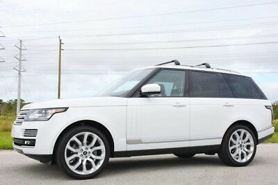 2014 Land Rover Range Rover HSE Sport Utility 4-Door 2014 RANGE ROVER HSE V6 SUPERCHARGED - ONLY 19,000 MILES -VISION ASSIST-FLORIDA