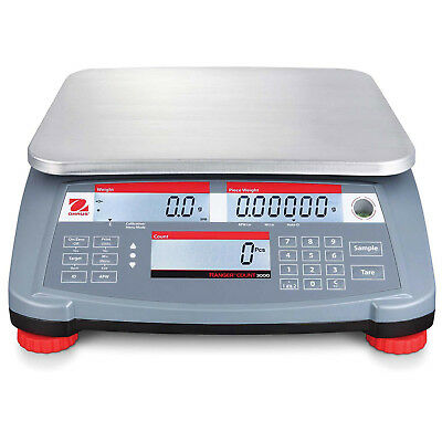 Ohaus RC31P30 Ranger Count 3000 Compact Digital Counting Scale, 60lb x 0.002lb,