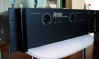 InterM R500 Stereo Reference Amplifier R-500W Bridged Audio Power Amp XLR Phono