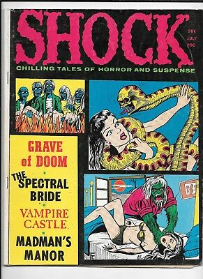 Shock Horror Suspense Magazine Vol 3 #3 July 1971 Stanley VG Creepy Vampirella