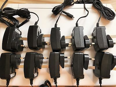 10 X Genuine Blackberry (Hdw-17957-003) Mains Micro Usb Chargers Fit Many Models